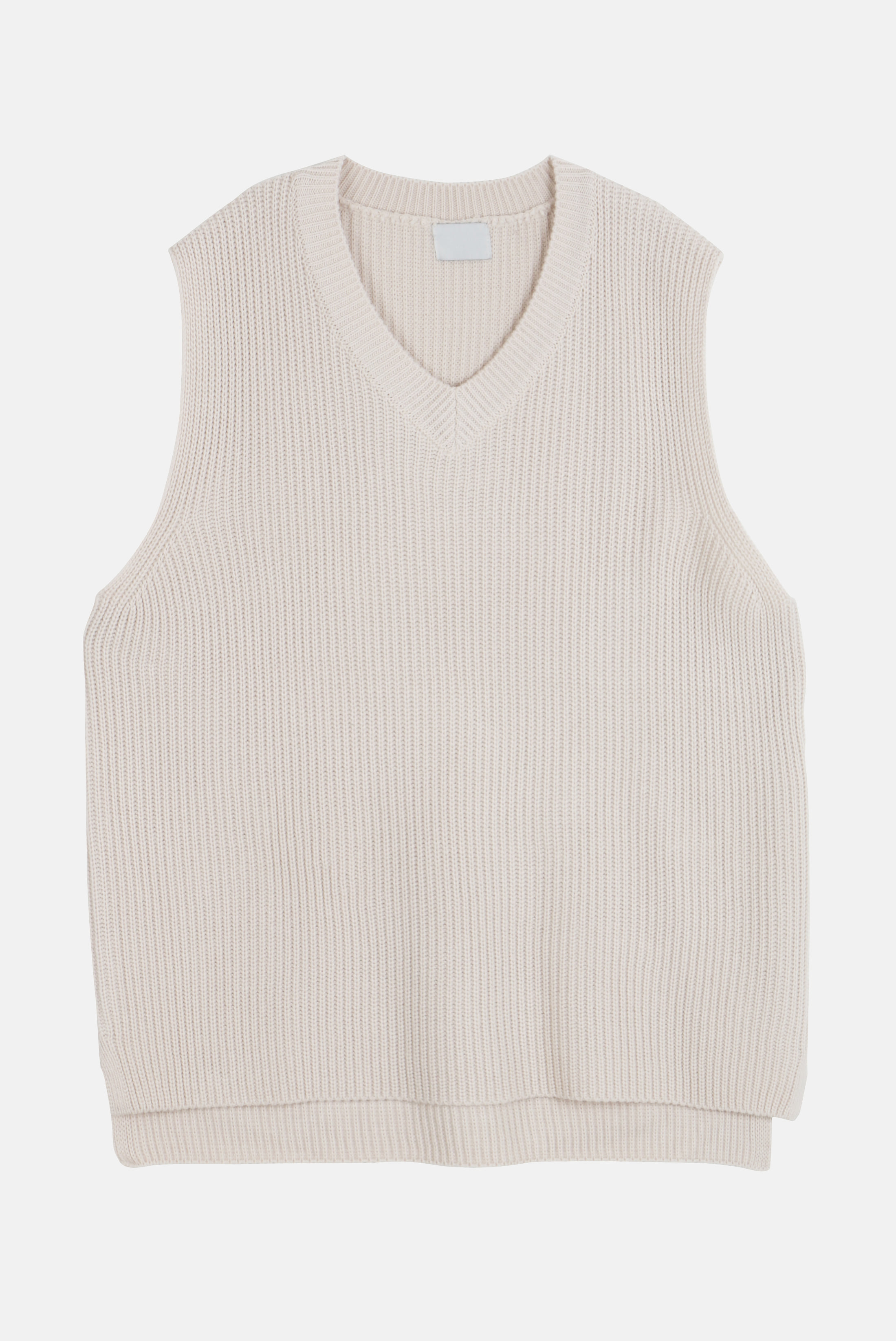 V_Neck Over Kint_Vest