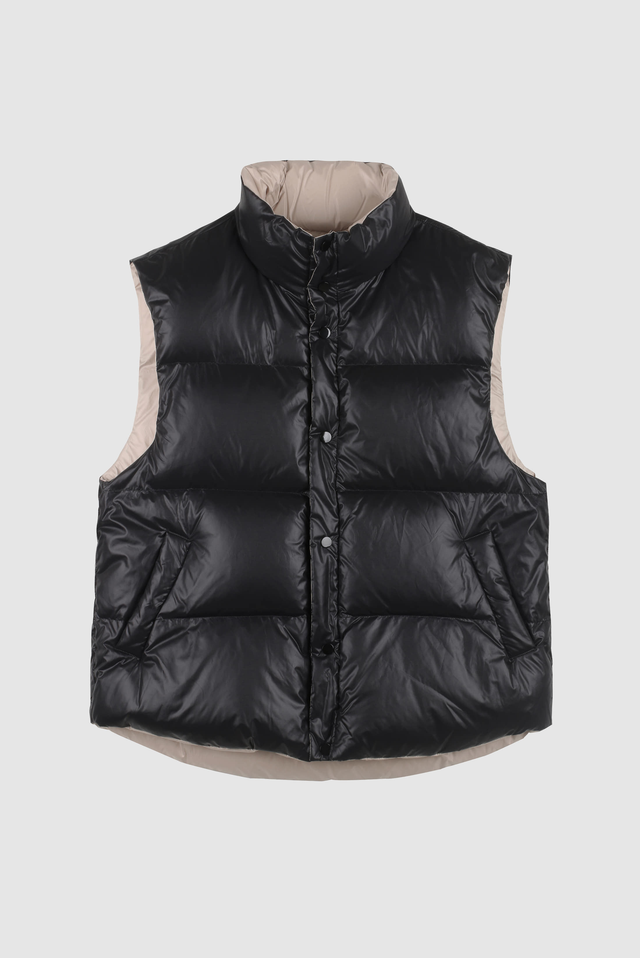 Duck_Down Reversible Padding_Vest