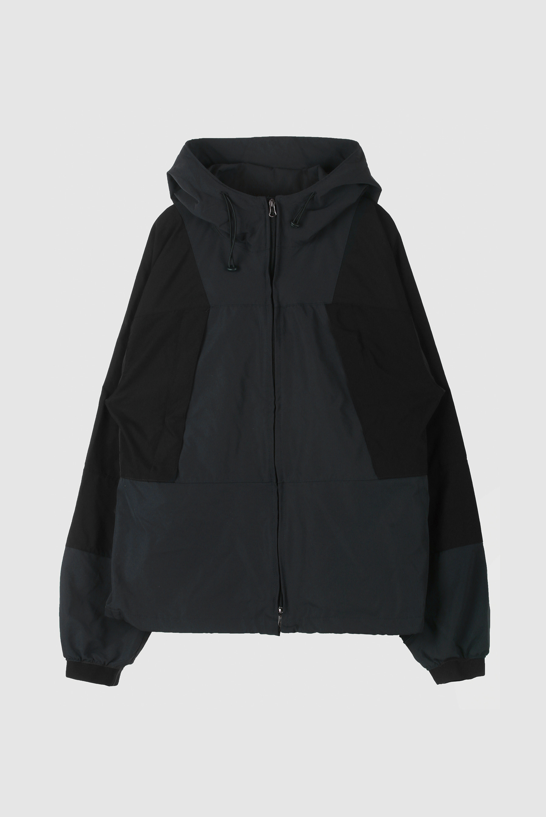 Two_Way Color Windbreaker