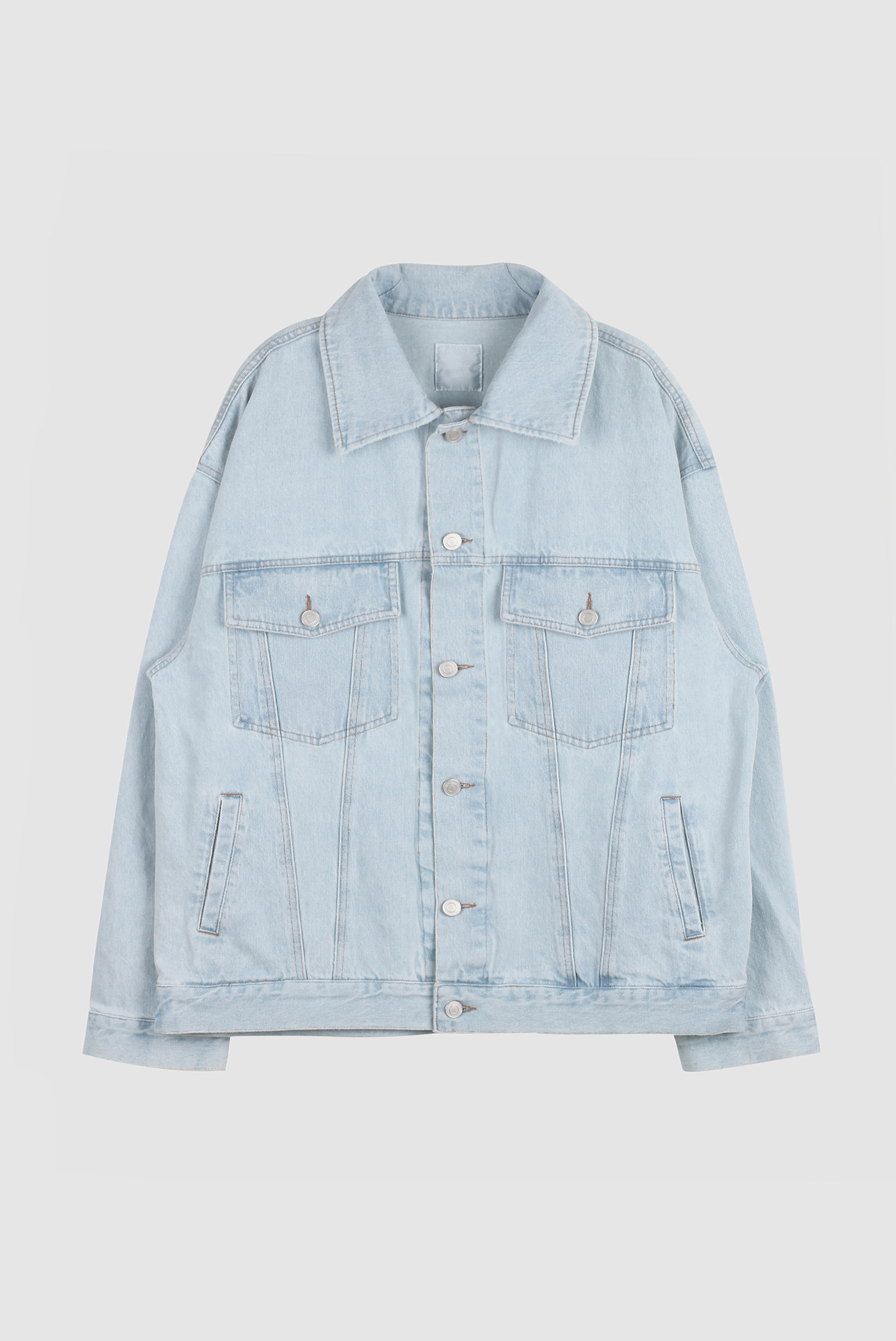 Basic_Over Size_Denim Jacket