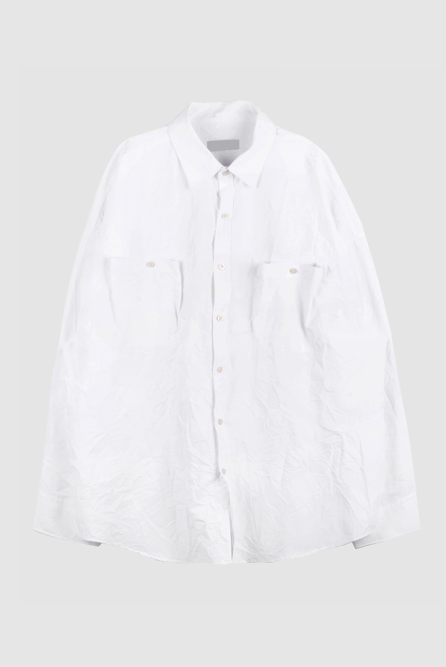 Nylon Wrinkle Over_Shirt