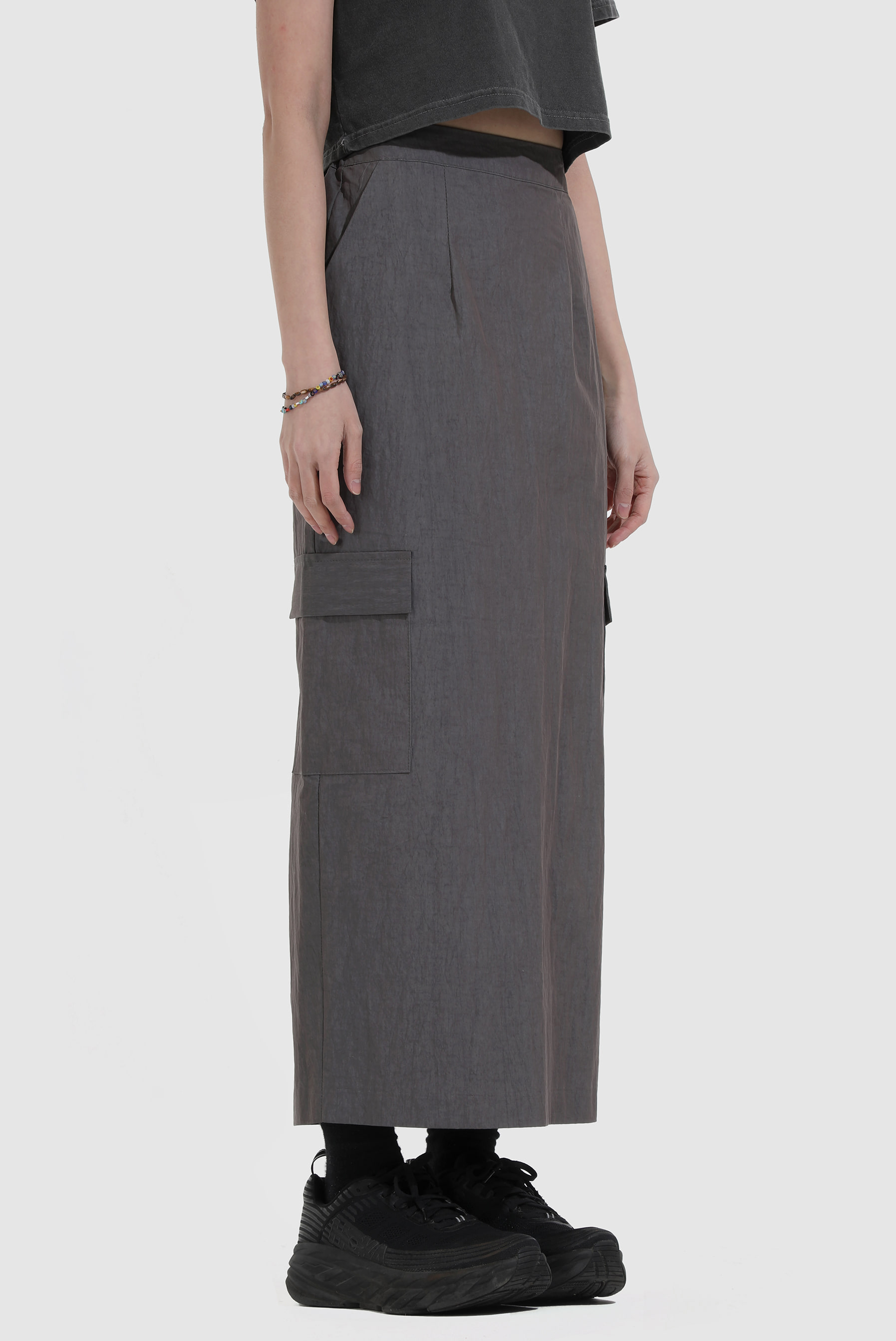 Two_Tone Tez Long_Skirt