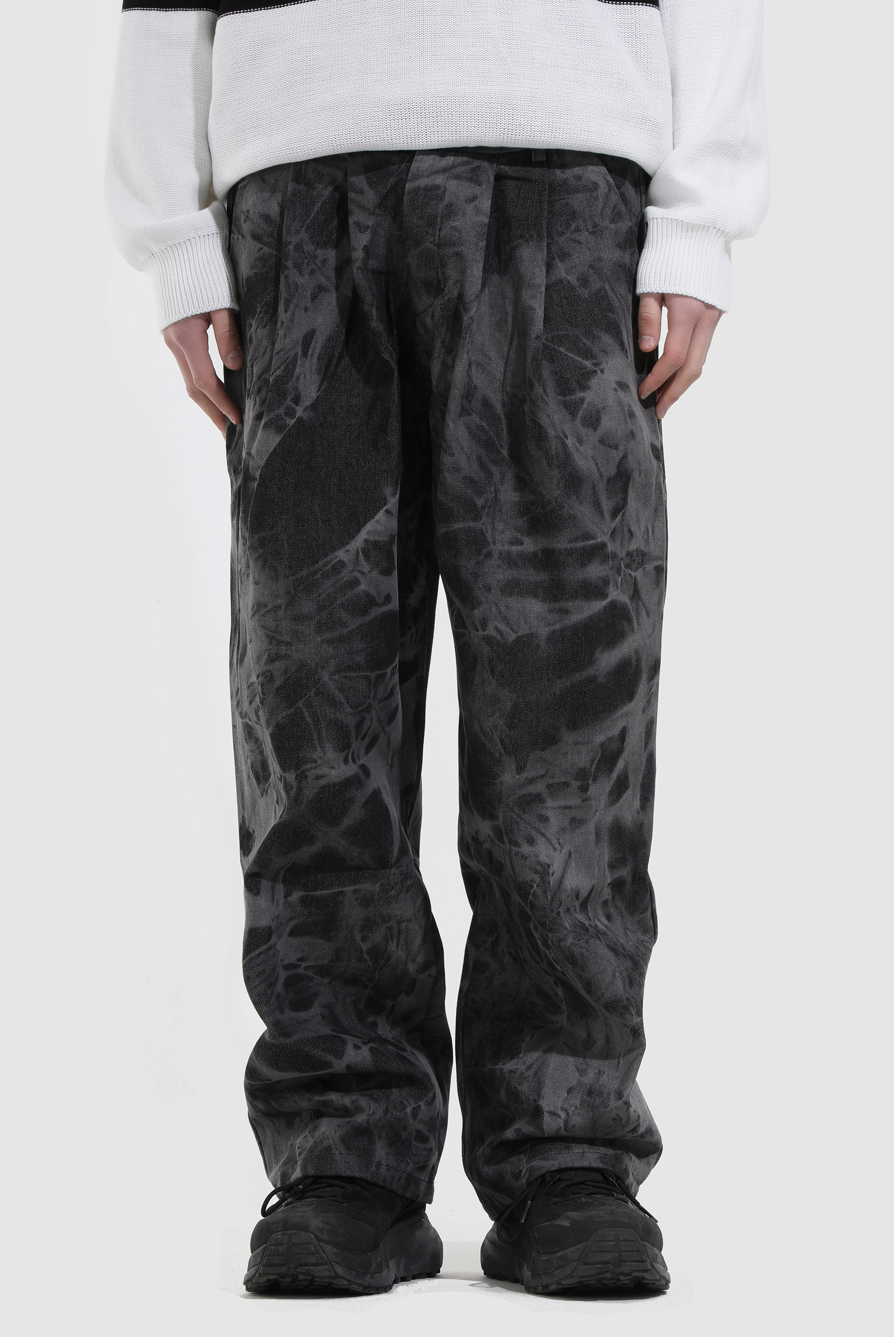 Tye-Dye Crack Wide_Pant